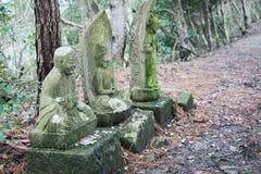 Japans Godsidool in hout Royalty-vrije Stock Foto