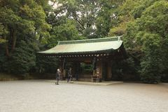 Japans heiligdom Stock Foto