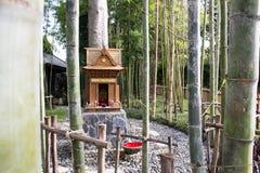 Japans Heiligdom in Nekoemon-koffie chiang MAI Thailand royalty-vrije stock afbeeldingen