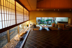 Japans hotel Royalty-vrije Stock Afbeeldingen