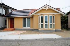 Japans Huis op Zonne-energie Royalty-vrije Stock Foto