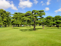 Japans Imperial Palace Plaza Stock Photography