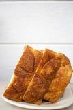 Japans lang mild squre Deens brood van het premiebroodje Royalty-vrije Stock Afbeeldingen