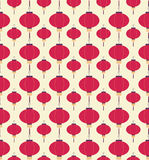 Japans lantaarnspatroon vector illustratie