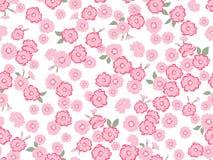 Japans Leuk Roze Bloesem Naadloos Patroon vector illustratie