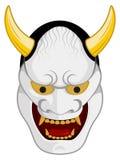 Japans Masker (Noh) stock illustratie