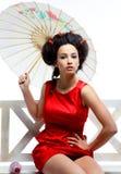 Japans meisje Stock Afbeelding