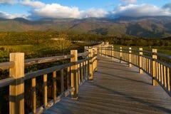 Japans nationaal park Shiretoko stock foto