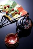 Japans nieuw jaarbeeld Stock Foto