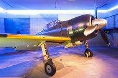 Japans nul vechtersvliegtuig Stock Afbeelding