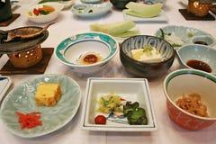 Japans Ontbijt Stock Afbeeldingen