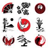 Japans ontwerp Royalty-vrije Stock Afbeelding