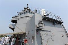 Japans oorlogsschip Stock Afbeeldingen