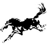 Japans paard Stock Afbeelding
