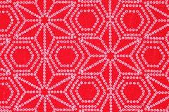 Japans patroon van kimono Royalty-vrije Stock Foto