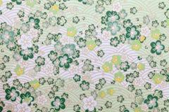 Japans patroondocument Royalty-vrije Stock Foto