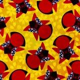 Japans Sarubobo-patroon vector illustratie