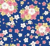 Japans Schitterend Cherry Blossom Pattern vector illustratie