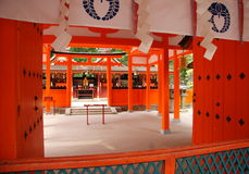 Japans Shinto-heiligdom Stock Foto