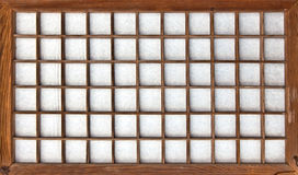 Japans stijl onweer-blind stock afbeelding