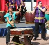Japans Taiko Drumming Stock Foto