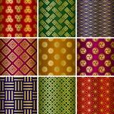 Japans traditioneel patroon Royalty-vrije Stock Afbeelding