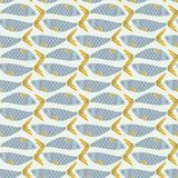 Japans traditioneel retro van het wagara naadloos patroon FI als achtergrond Stock Fotografie