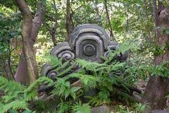 Japans tuinlandschap Stock Afbeeldingen