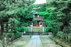 Japans tuinontwerp Stock Afbeeldingen