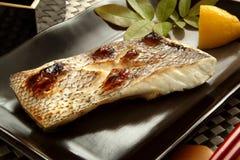 Japans voedsel, geroosterde vissen Royalty-vrije Stock Foto