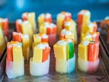 Japans voedsel, Sushibroodje Royalty-vrije Stock Fotografie