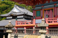 Japanse architectuur Stock Afbeeldingen