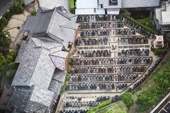 Japanse begraafplaats Stock Foto's