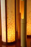 Japanse Binnenlandse Lamp Royalty-vrije Stock Afbeeldingen