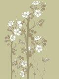 Japanse bloemen stock illustratie
