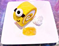 Japanse broodjescake Royalty-vrije Stock Afbeelding