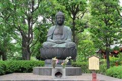 Japanse Buddha at Asakusa Temple, famous for the Senso-ji, a Bud Stock Photography