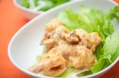 Japanse Chinese keuken Ebimayo Stock Fotografie