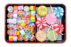 Japanse colorful candies stock images