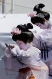 Japanse danser Stock Foto