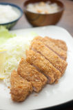 Japanse Diepe Kotelet Tonkatsu Stock Afbeeldingen