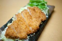 Japanse Diepe Kotelet Tonkatsu Stock Afbeelding