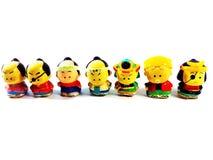 Japanse Doll Royalty-vrije Stock Foto's