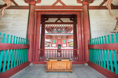 Japanse donate box. In Shrine royalty free stock photo