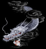 Japanse Draak vector illustratie