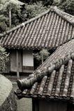 Japanse gebouwen Stock Afbeelding