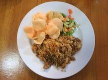 Japanse gebraden rijst Royalty-vrije Stock Afbeelding