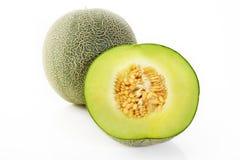 Japanse groene meloen Stock Afbeeldingen