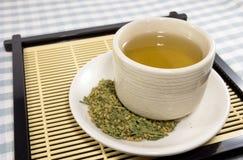 Japanse groene thee Royalty-vrije Stock Fotografie