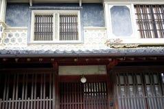 Japanse historische architectuur Royalty-vrije Stock Foto's